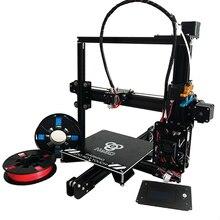 Auto level большой размер HE3D EI3 Одного полного металла экструдер prusa i3 DIY 3d принтер комплект SD карты и два рулона накаливания для подарок