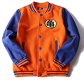 Dragon Ball cosplay cloth Printed Hoody Sweatshirt hooded Baseball uniform Jackets Anime Cosplay costume hoodie