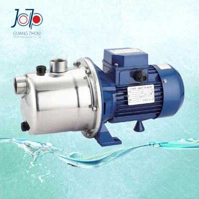 SZ075B 380V Jet Stainless Steel Self-priming Centrifugal Pump Clean Water Sanitary Pump Irrigation Water Supply Booster Pump sz060 good quality home use small stainless steel water pump jet self priming centrifugal pump circulating pump factory supply