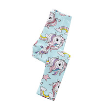 Baby Girls Legging Pants Unicorn Applique Pencil Hot Selling New Arrival Fashion Trouser Girl Skinny