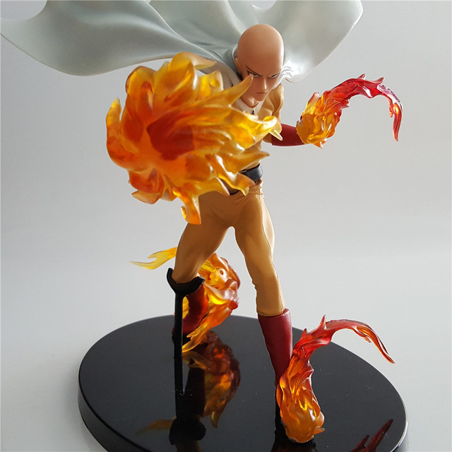 ONE PUNCH MAN Action Figure Saitama Anime Figure DXF Fire Fist Figurine PVC Kids Toys Model Collectible Gift Children Doll PM