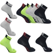 Sports dété courtes chaussettes de cyclisme professionnel protéger les pieds course vélos chaussettes hommes femmes