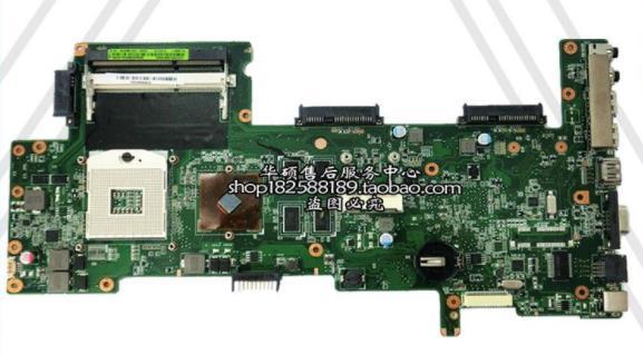 Laptop Motherboard For Asus K72J K72JU K72JT K72JR  Mainboard HD6370 Test