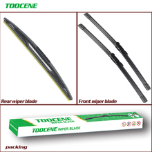 Front And Rear Wiper Blades For Wiper Blades For Chevrolet Tahoe 2007-2014 Windscreen Windshield Wipers Auto Car Accessories недорго, оригинальная цена