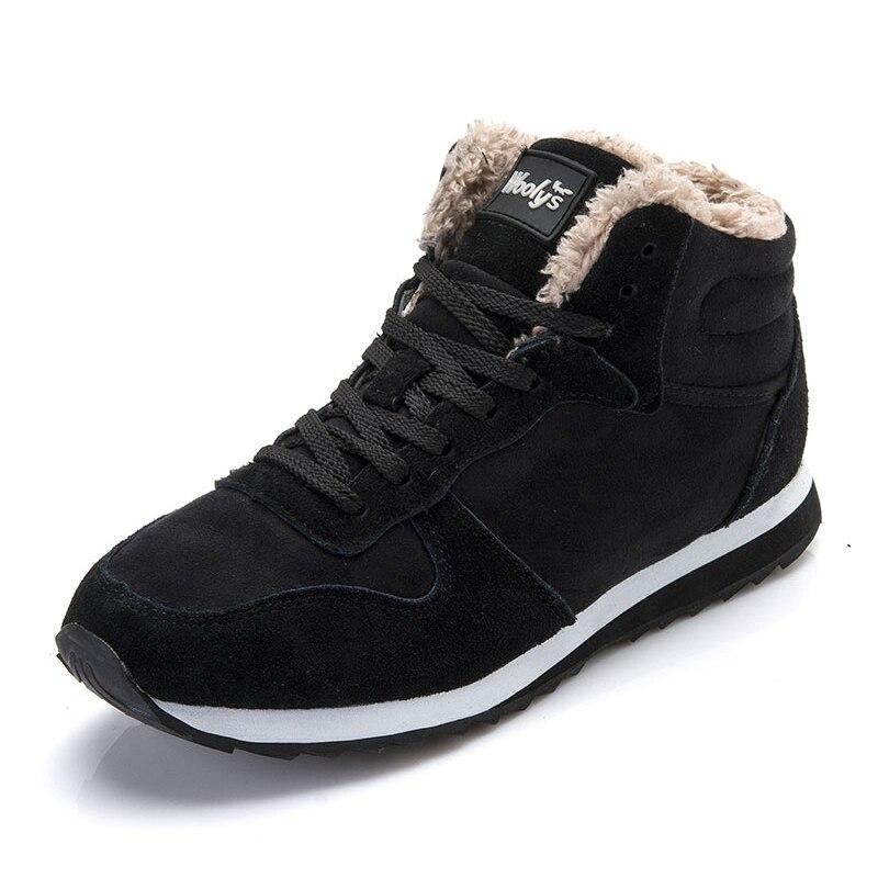 Invierno Piel 252 Negro Amantes Botas azul Los Regalo Zapatos Las Tobillo Del Gruesas De Mujer Mujeres Nieve H ZRCXqC