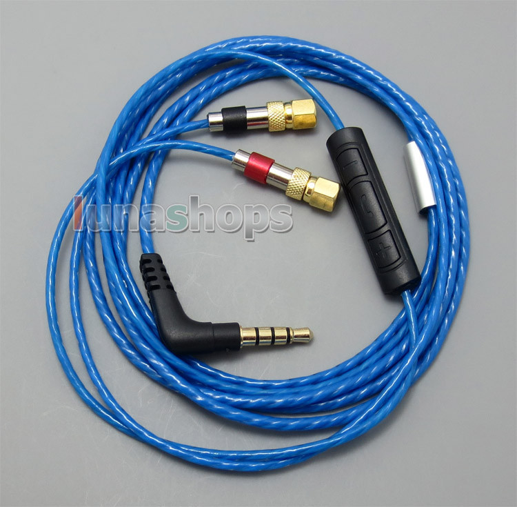 LN004985 Avec Micro Volume Distant Câble Pour HiFiMan HE400 HE5 HE6 HE300 HE560 HE4 HE500 HE600 Casque