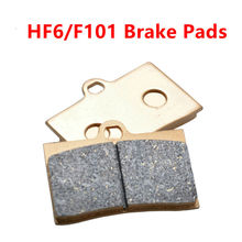 Cheaper Motorcycle Spare Parts Brake Pads Set of brake pads large abalone RPM size HF6 F101 High performance brake caliper