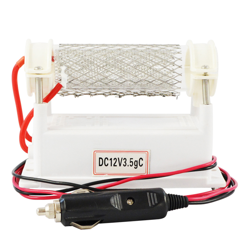 Car Ozone Generator 12V 3500mg Air Purifier Quartz Tube Air Ozonizer Cleaner O3 pDeodorizer Sterilizer Air Cleaner Ozonizador цена 2017