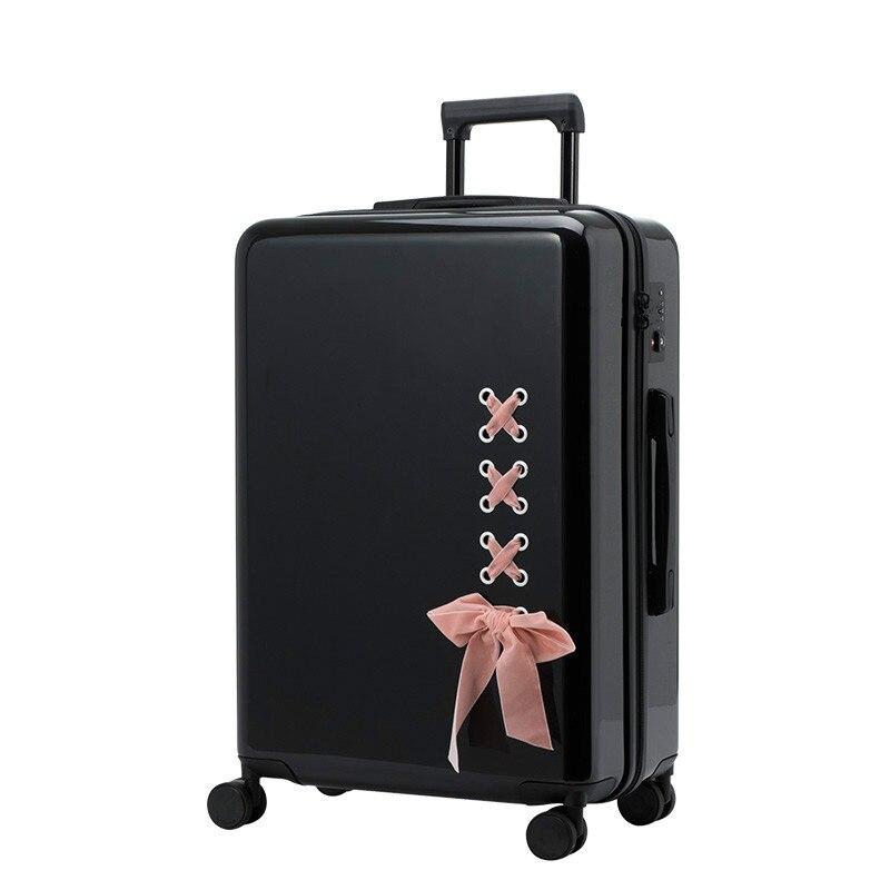 """20 """"24"""" Zoll Mode Abs Reise Stamm, Räder Reisetasche Koffer Tasche, Tragen Auf Gepäck Box Reise, Große Kapazität Lagerung Fall,"""