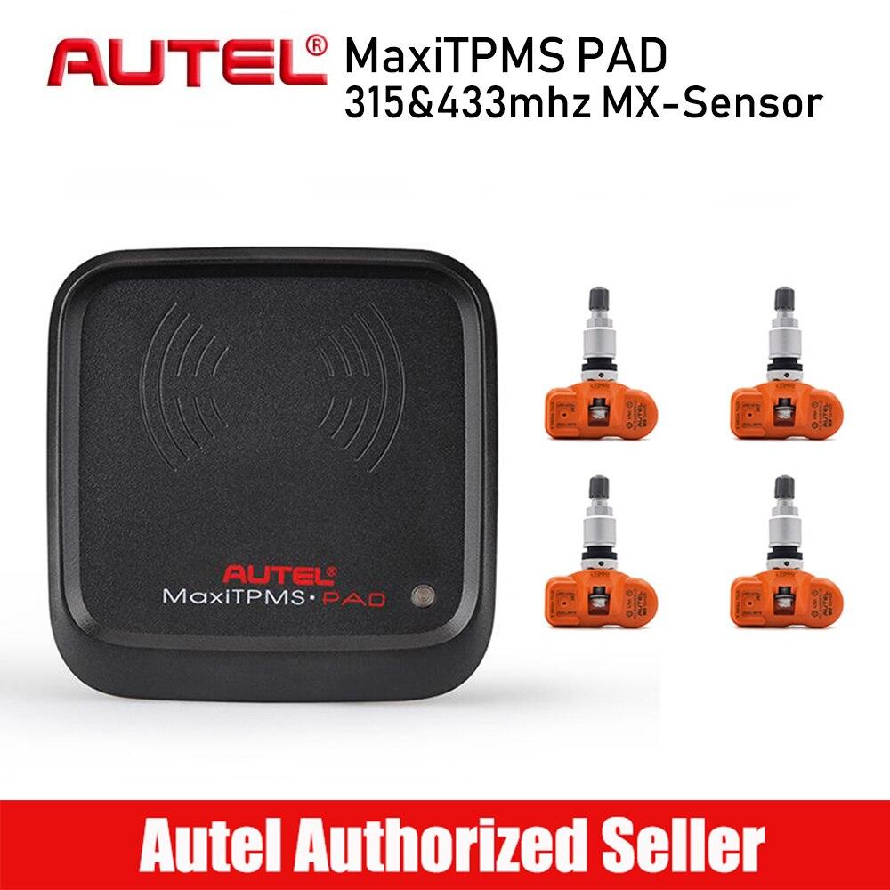 4 шт. autel MaxiTPMS Pad шин датчики давления активации программист активировать инструмент Mx-сенсор 433 МГц шин датчики давления s