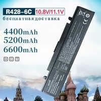 4400mah Laptop Battery Aa Pb9ns6b For Samsung aa pb9nc6b R540 R519 R525 R430 R530 RV511 RV411 np300v5a R528 AA-PB9NS6B PB9NC6B