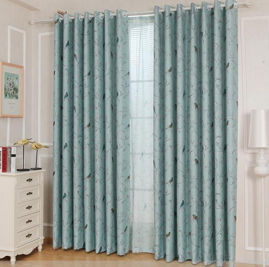 long curtains finished clearance wave dandelion half shading cloth bedroom balcony window curtain height 27