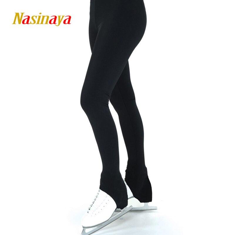 Personnalisé Figure De Patinage pantalon long pantalon pour Fille Femmes Formation Concurrence Patinaje Glace De Patinage Chaud Polaire Gymnastique 23