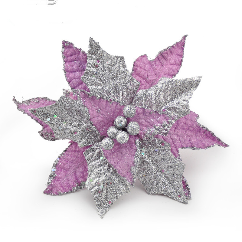 Wholesale Christmas Tree Flower Christmas Ornament Set