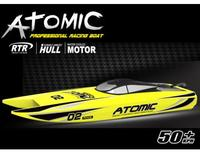 Volantex ABS Hull Atomic RC PNP Model Boot W/Motor40A ESC Servo W/O Baterry