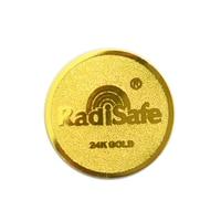 2019hot product realy work shiled Radisafe 99.8%24K-Gold Radi Safe anti radiation sticker 30pcs/lot free shppin