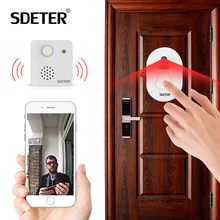 SDETER WIFI Doorbell Door Bell Kit Home Security Camera Wireless WIFI W Free Cloud Storage Night