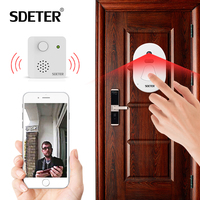 SDETER WIFI Doorbell Door Bell Camera Wireless WIFI With Free Clond Storage Night Vision Photograph Alarm