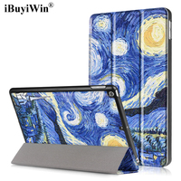 iBuyiWin Case for iPad 2017 9.7 Magnetic Folding Folio Smart Cover Flip Stand PU Leather Funda Case for iPad 2017 9.7+Film+Pen