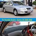 car dashmats car-styling accessories dashboard cover  for Hyundai Avante Neo Fludic  elantra i35 2000 2001 2002 2003  2005 2006