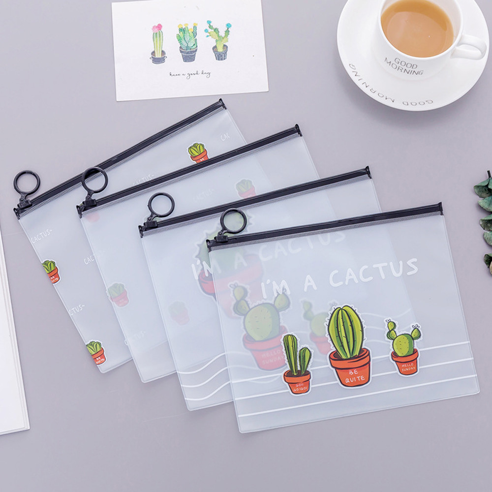 Office Stationery Cute Student Pencil Pen Cactus Student Pencil Pen Case Cosmetic Pouch Pocket Brush Holder Makeup Bag  D328Office Stationery Cute Student Pencil Pen Cactus Student Pencil Pen Case Cosmetic Pouch Pocket Brush Holder Makeup Bag  D328