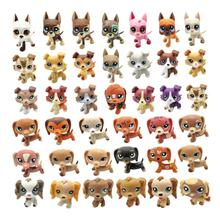 New Lps Pet Shop Real Yellow White Red Brown Great Dane Collection Mini Action Stand Figure Best Gift for Children