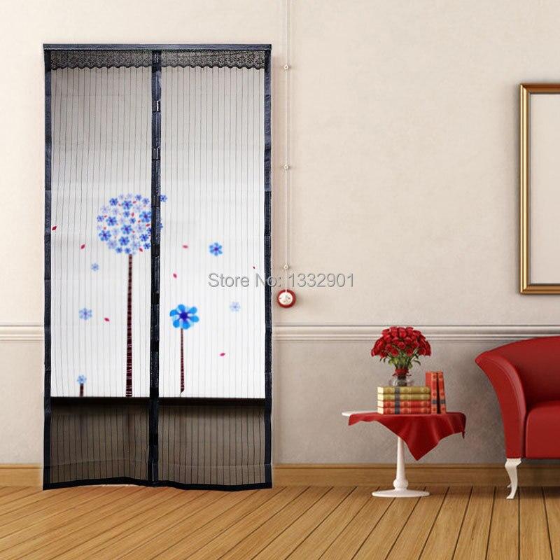 Malla cortina para puerta jardin anti mosquitos insectos for Cortina mosquitera puerta