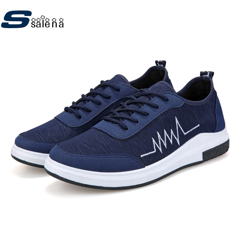 Prix pour Planche à roulettes Chaussures Sneakers Hommes Chaussures Doux Classique Athletic Chaussures Lumière Marque Cool Sneakers AA20039