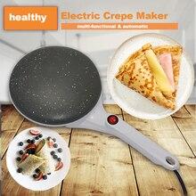 Электрическая блинница для пиццы, блинная машина с антипригарным покрытием, сковорода для выпечки, машина для торта, кухонные инструменты для приготовления пищи, штепсельная вилка европейского стандарта