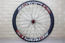 High quality chosen 1586 7187 hub carbon wheels for Road Bike 35/50/56/86mm depth 27mm width clincher/tubular wheelset(China)