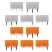 5Pcs Original TTC Gold Silver Micro Switch Mouse Button Accessories 30 Millions Lifetime