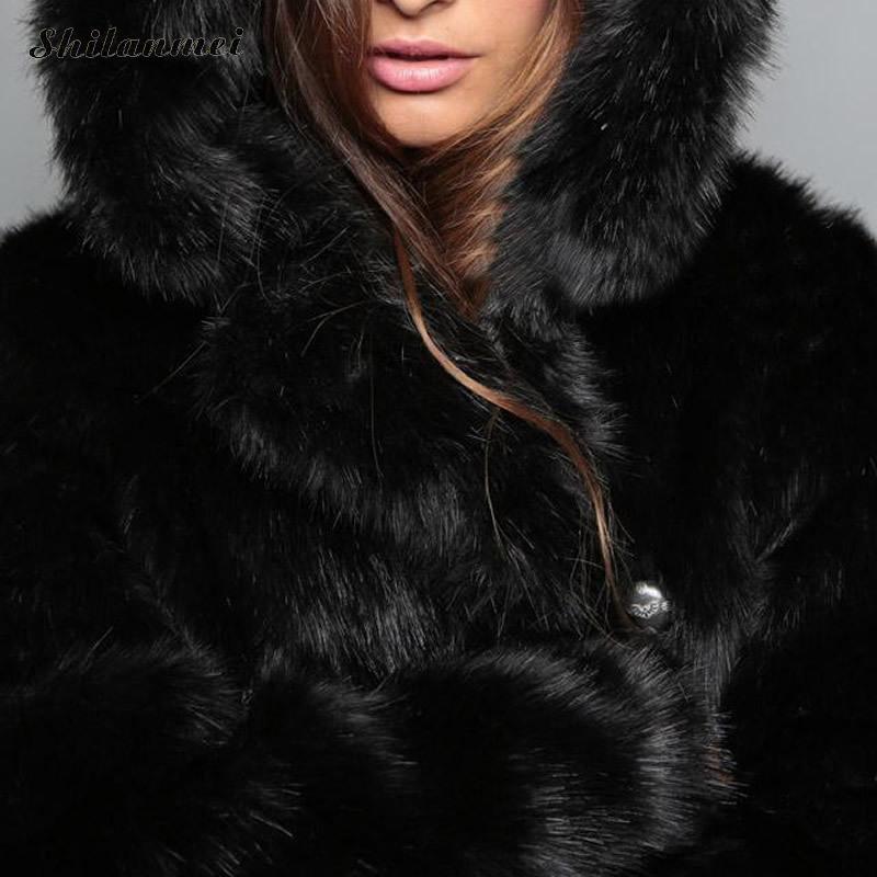 Avec Bande Style 4 L'oreille Hiver Dessinée Couleurs Longue Manteau d Nouvelle Veste Survêtement Coiffe Fourrure Renard c A Faux Mode Femmes 2017 b Section De zx6wqOvwa