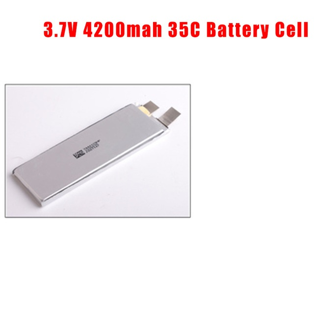 GTFDR 3.7V 4200mah 35C max60C Repacement rechargeable lipo battery Helicopter Airplane drone 2S 3S 4S 6S Battery cell