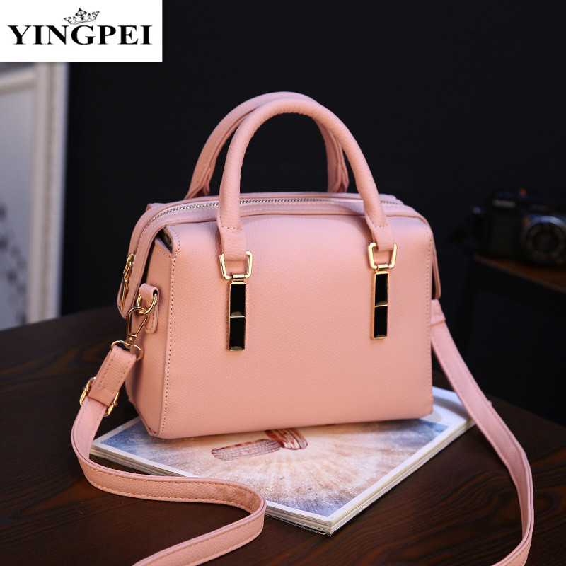 YINGPEI 2017 New Women Messenger Bags Leather Shoulder Bag Ladies Handbags Crossbody Purse Satchel Bolsas Fashion Tote Bags Gift women shoulder bags leather handbags shell crossbody bag brand design small single messenger bolsa tote sweet fashion style