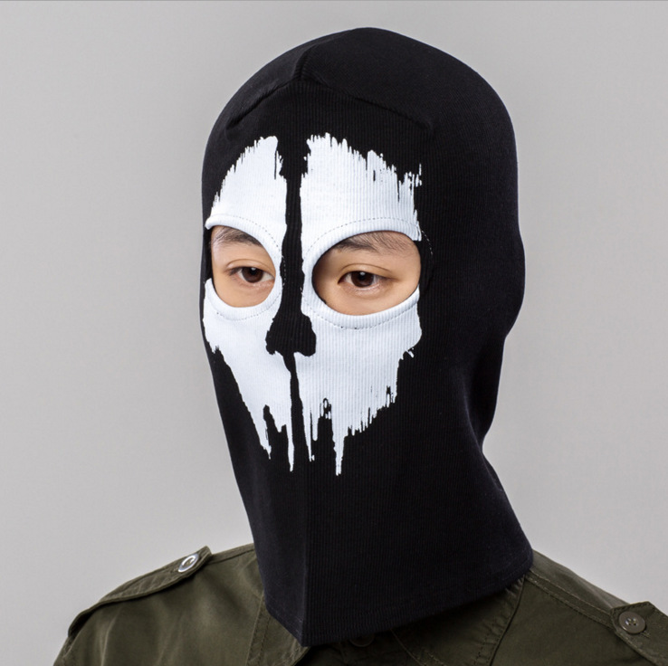 Tactical Full Face Mask Balaclava Motorcycle Cycling Hunting Outdoor Ski Ghost Skull Masks