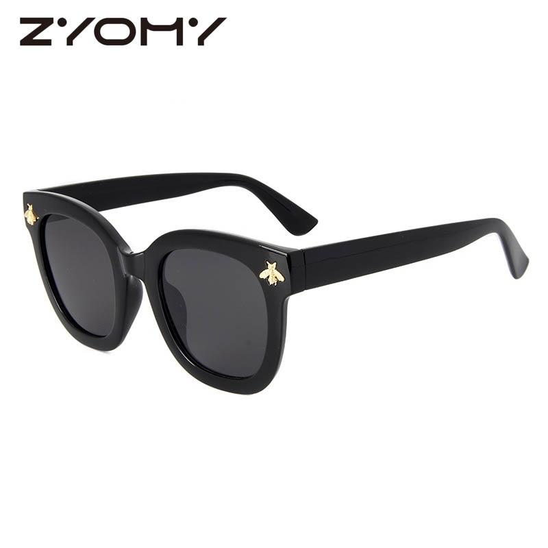 Oculou de sol Driving Goggles Honey Bee Accessories Classic Ladies Eyewear Women Sunglasses Glasses UV400 Gradient Colors Lenses