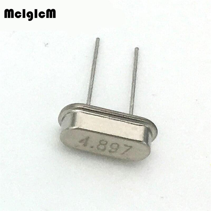 1000pcs hc 49s 4 897MHz 20ppm 20pF quartz resonator