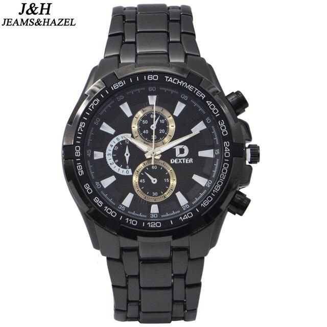 3b9d93379 سخونة الرجال الساعات أفضل جودة الكوارتز حركة رجل ساعة ماركة الساعات الفاخرة  ساعة اليد رجال بارد