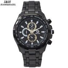 Hottest men watches best quality quartz movement men watch brand luxury hand clock men cool watches stainless steel back watch