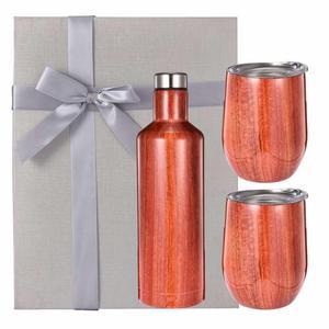 Image 2 - Seti şarap şişesi Büyük Şişesi Hediye Kutusu Arkadaş ve Müşteri şarap kadehi Bira Kırmızı Şarap Bardağı şaşırtıcı LOGO özelleştirilmiş