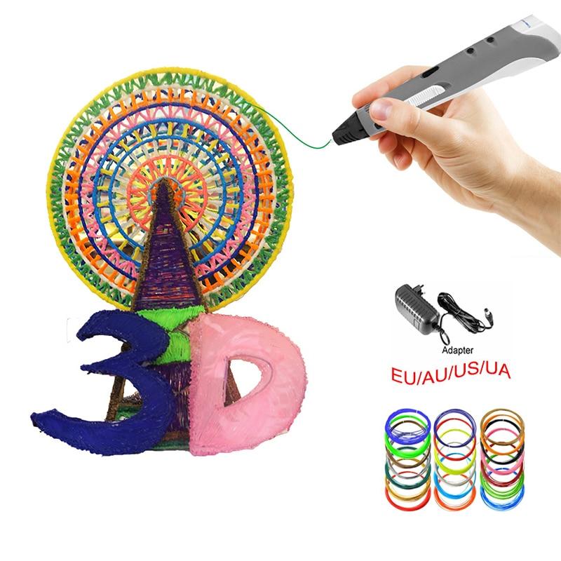DEWANG Scribble 3D қаламдары 100M ABS Filament 3D - Кеңсе электроника - фото 2