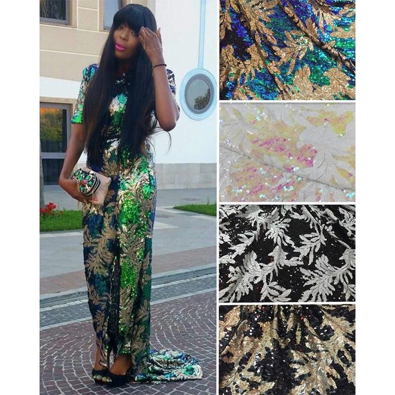 2017 새로운 프랑스어 나이지리아 골드 장식 조각 레이스 아프리카 얇은 명주 그물 레이스 패브릭 파티 웨딩 드레스에 대한 고품질의 고급 장식 조각-에서레이스부터 홈 & 가든 의  그룹 3