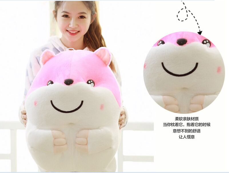 huge plush hamster toy fat lovely pink hamster doll gift toy about 50cm the huge lovely hippo toy plush doll cartoon hippo doll gift toy about 160cm pink