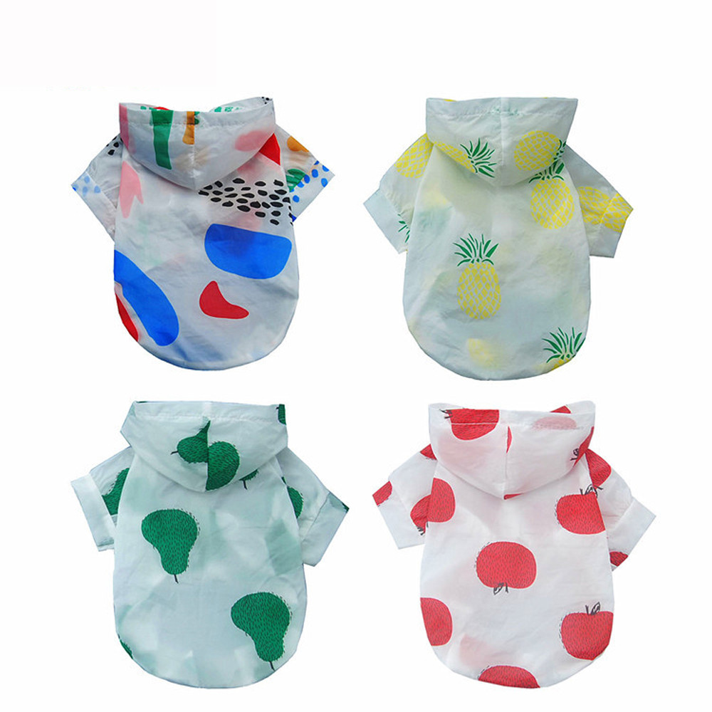 Dog Clothes For Small Dogs Pet Products Clothing Cute Pet Puppy Dog Clothes Summer Breathable Pet Sunscreen T-shirt Coat