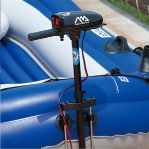 Image 3 - AQUA MARINA WILDRIVER Inflatable Boats Fishing Boat Rubber Inflatable PVC Boat Kayak For Fishing Double Persons With Paddle
