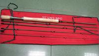 Aventik IM12 3wt 11ft 5SEC Medflex Action Nymph Fly Rod 135g Super Light Fly fishing Rod For Nymph Fishing Better Than Redington