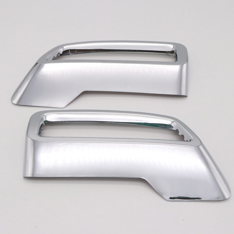 Schwanz Throat Dekor Fit for Peugeot 3008 5008 GT 17 2018 2019 2020 Auspuff-Endst/ück Throat Dekorative Rahmen Dekorative Abdeckung Automotive Exterior Zubeh/ör Color : Silver