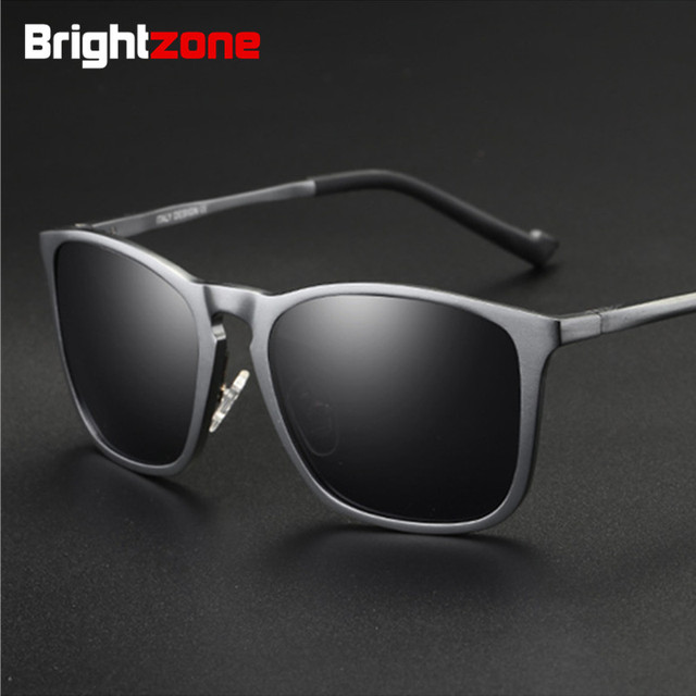Brightzone Premium Collection Aluminum Magnesium Full Rim Polarized Fishing Sunglasses Oculos De Sol Gafas Sun Glasses for Men