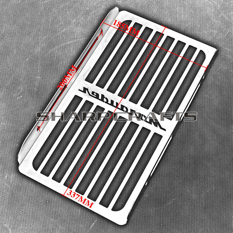 Motorcycle Steel Chrome Radiator Grill Cover Guard Protector For SUZUKI  Marauder VZ 800 1997 - 2003 2002 2001 2000 1999 1998
