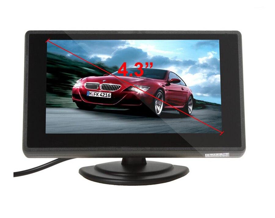 XYCING 4.3 Inch TFT LCD Avtomobil Monitor Avtomobil Arxa Baxış - Avtomobil elektronikası - Fotoqrafiya 6
